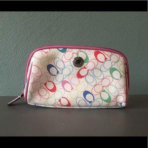 Coach Cosmetic Makeup Bag